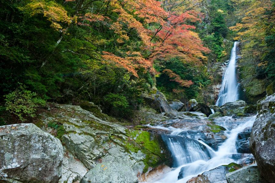 日本滝百選 笹の滝(奈良県十津...